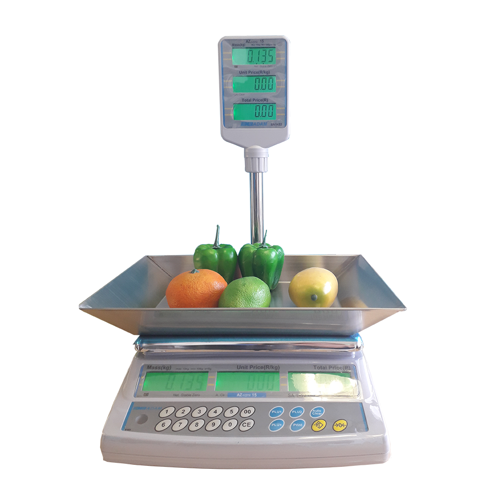 AZextra Trade Approved Meat Scales: product image 2 AZextra Price Computing Scale with Scoop