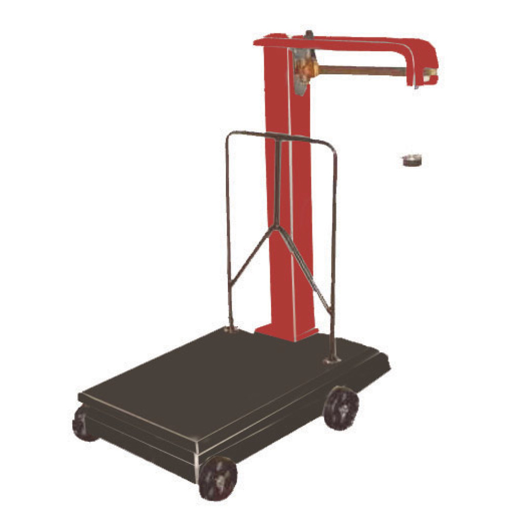 AQ Mechanical Steelyard Scales: product image 1 AQ Industrial Steelyard Platform Scales | Scaletec South Africa