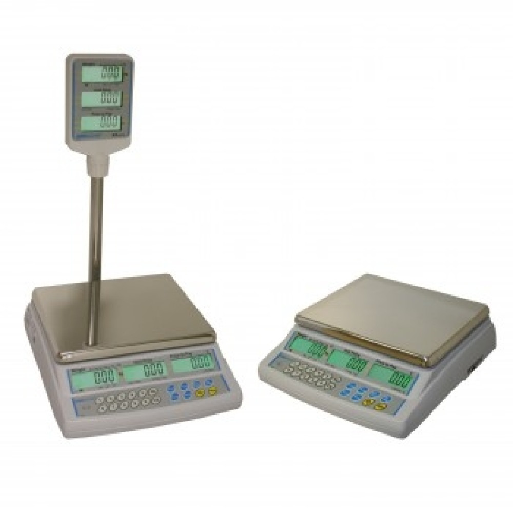 AZextra Trade Approved Meat Scales: product image 3 AZextra Trade Approved Retail Scale | Scaletec South Africa