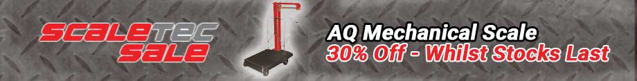 30% off the AQ Mechanical Scale - whilst stocks last